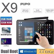 Pipo X9 Mini Pc Windows10 Android Quadcore Pronta Entrega!