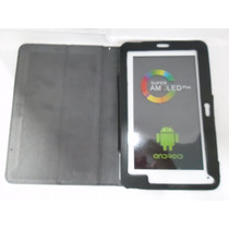 Tablet T730 800x480 Android + Capa Protetora Branco