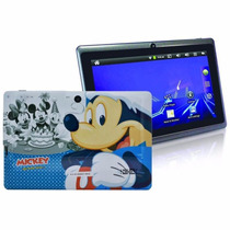 Tablet Disney Mickey 8gb Wi-fi 7 Dual Câmera