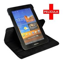 Kit Capa Giratória + Película Tablet Samsung Tab2 7 P3100