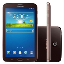 Galaxy Tab 3 T211 Marrom 8gb Wi-fi 3g Nacional Entrada Chip