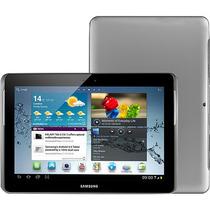 Tablet Samsung Galaxy Tab 2 P5100 Cinza 3g Cam 3mp 16gb 10.1