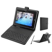 Tablet Tela 7 Galaxy Tv Digital Gps 3g Celular 2 Chips +capa