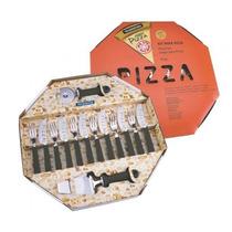 Kit Para Pizza 14 Peças Tramontina - Preto