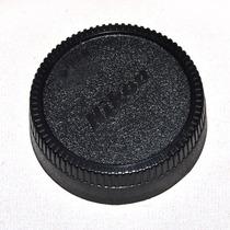 Tampa Traseira Objetiva Nikon Lens Cap - Frete R$6,90