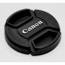 Tampa Lente Objetiva Reposição Com Logo Canon Lc-67 67mm