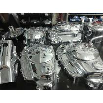Tampas Motor Titan/fan125/150 Cromadas
