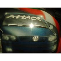 Tampa Do Motor + Tampa Do Radiador Grafitado Do Gol Giii