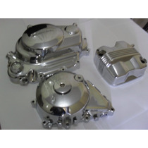Tampas Motor Honda Titan Fan Bros 125/150 Cromado