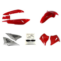 Carenagens / Plasticos Cbx250 Twister 2004 Vermelha