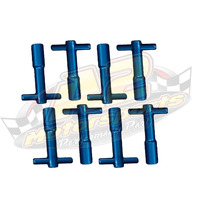 Wing-nuts Ap - Alumínio Azul/vermelho