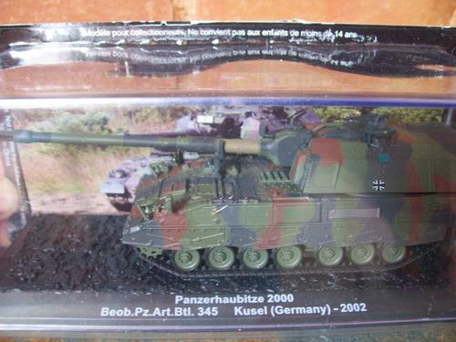 Tanque Militar 1:72 Panzerhaubitze 2000 Germany 2002 Altaya