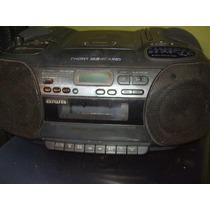 Som Micro System Usado Marca (aiwa)..toca Fitas Cd E Radio.