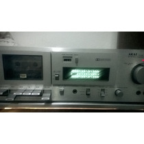 Tape Deck Akai Cs-mo2(leia O Anuncio)