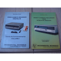 Livro Técnico De Funcionamento De Video Cassete Vol 1 E 2