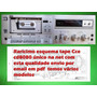 Raro Esquema Tape Deck Cce Cd8080 Cd 8080 8080 Em Pdf