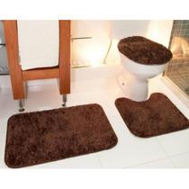 Jogo Para Banheiro Classic Castor - Tapete Oasis