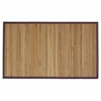 Tapete Para Banheiro Lavandeiria Em Bambu Natural 60x120cm