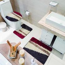 Jogo De Banheiro 3 Peças Riviera Diagonal - Jolitex