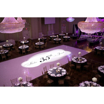 Pista De Dança Personalizada Casamentos 15 Anos 6m X 6m