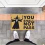 Capacho De Borracha You Shall Not Pass