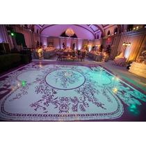 Pista De Dança Personalizada Casamentos,15 Anos 4,20 X 4,20m
