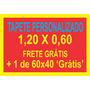 2 Tapetes (1,20x0,60 E 60x40) Personalizados - Frete Grátis