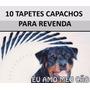 Atacado 10 Tapetes Capacho Eu Amo Meu Cão