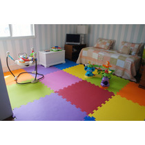 Montessori Tapete Eva Kit Quarto Com 4 M²