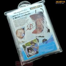 Tela Mosquiteiro Bebê Conforto Carrinho Poliéster Proteção
