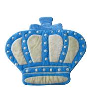 Tapete Para Quarto Bebê Menino Príncipe Coroa Lb527azul Bebê