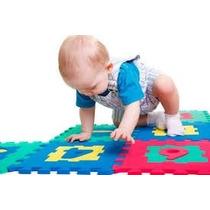 Tapete Eva Tatame Infantil 10 Peças Números Educativo Bebe