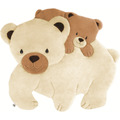 Tapete Infantil Ursinho Urso Polar Conforto Bebê Acolchoado