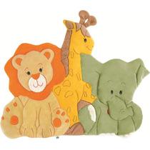 Tapete Infantil Zoo Baby Safari Conforto Do Bebê Acolchoado