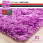 Tapete Shaggy Seda, Light Purple, Sob Medida, 1,40m Redondo