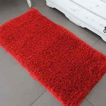 Passadeira Vermelha De Quarto/sala Jolitex 66x1,80 M Pelo Al