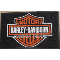 Tapete Capacho Harley Davidson - Com Bordas Rebaixadas