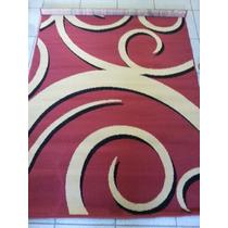 Tapete De Sala Persa 1.33 X 1.90 Desenho Espiral