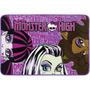 Tapete Infantil Monster High Raschel Toque Super- Jolitex