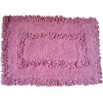 Tapete Chenille Decorativ Rosa 40x60cm