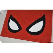 Tapete Capacho Spider Man Homem Aranha Com Bordas Rebaixadas