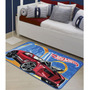 Tapete Oriental Hot Wheels Cidade 80x120cm Jolitex