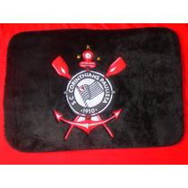 Tapete Corinthians Pelúcia P/ Quarto 0,50cm X 0,65cm