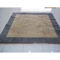 Tapete Quadrado Gabbeh 2,00 X 2,00 Tapete Oriental Persa Gab