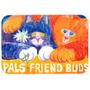 Cats Pals Amigos Buds Cozinha Ou Banho Mat 24x36