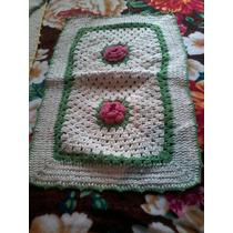 Tecidos Croche Feito Manualmente