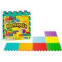 Tapete Colorido Decorativo Liso Eva Pcs Nig Brinquedos