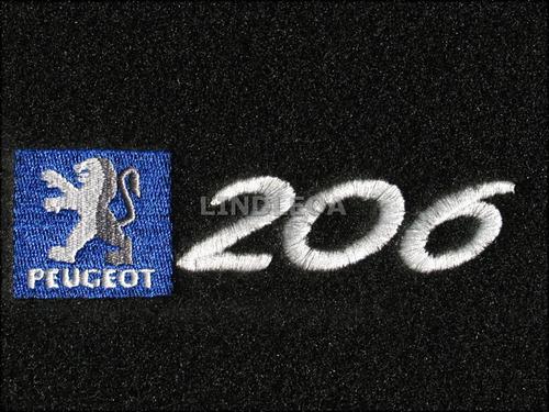 Tapetes Personalizados 206 Peugeot Soleil Quicksilver Feline