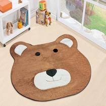 Tapete De Pelúcia Infantil Urso Gigante