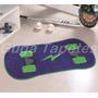 Tapete Infantil Em Pelúcia Formato Skate Radical - Azul